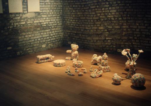 esculturas algodones