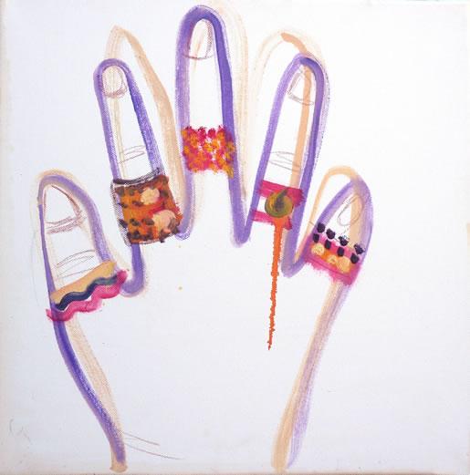 manos y joyas