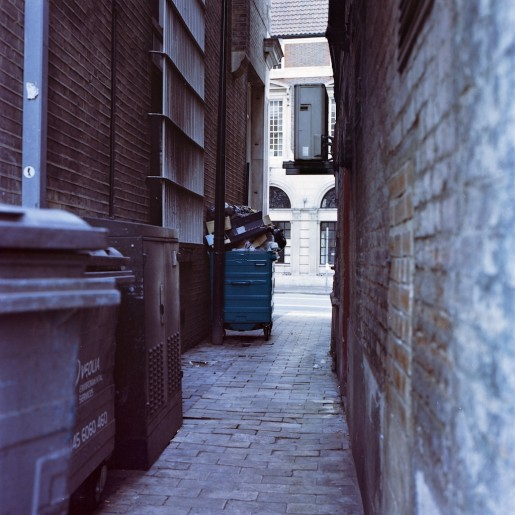 typical alley